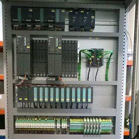 Fabricación cuadro para control aire comprimido